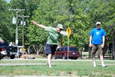 Steve Lucas - Frisbee Long Distant Throwing Champion