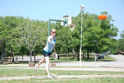 Jill Wickham - Frisbee Long Distant Throwing Contest