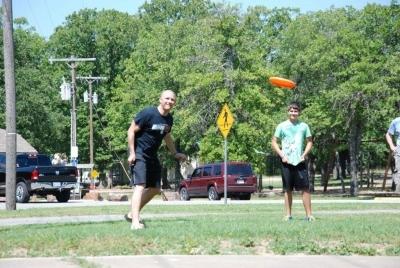 Jeff Clark - Frisbee Long Distant Throwing Contest