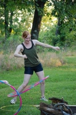 Jill Wickham - Hula Hoop Contest